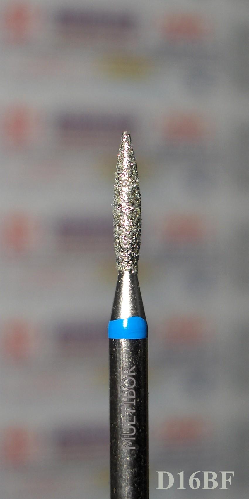 D16BF, MULTIBOR Diamond Nail Drill bit, 3/32(2.35mm), Professional ...