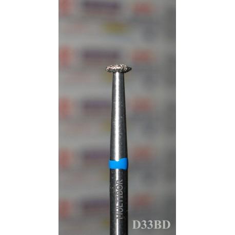 D33BD, MULTIBOR Diamond Nail Drill bit, 3/32(2.35mm), Professional Quality