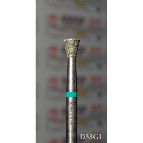 D33GI, MULTIBOR Diamond Nail Drill bit, 3/32(2.35mm), Professional Quality