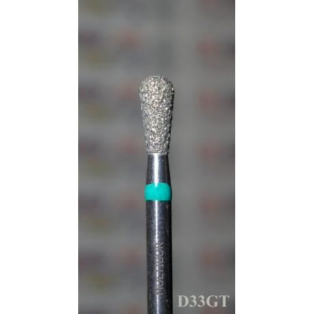 D33GT, MULTIBOR Diamond Nail Drill bit, 3/32(2.35mm), Professional Quality