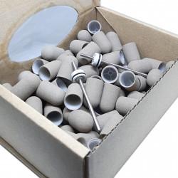 C10S, 10 pcs ∅ 10mm, 180 Grit, Super, MULTIBOR PEDICURE CAPS, 20.000 rpm. Professional High Quality